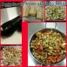 Serving up Fresh Eggplant