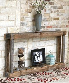 """Look what I found on #zulily! 60"""" Natural Single Top Console Table #zulilyfinds"""