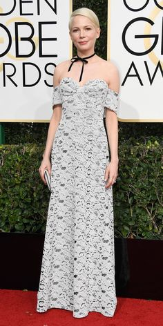 All the Glamorous Looks from the 2017 Golden Globes Red Carpet - 2017 Golden Globes Michelle Williams - Slide from InStyle.com