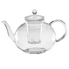 Clear infuser pot