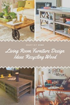 Living Room Wood Furniture Design  #furnituremakeover #furnitureideas Diy Living Room Furniture, Diy Furniture Projects, Home Living Room, Furniture Makeover, Wood Furniture, Furniture Design, Furniture Inspiration, Design Inspiration, Classy