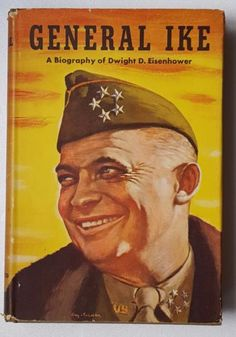 1944-Hardcover-Book-General-Ike-A-Biography-of-Dwight-D-Eisenhower-by-A-Hatch