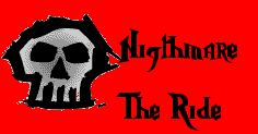 Nightmare The Ride custom sign Roller Coaster Tycoon, Zombies, Skulls, Signs, Shop Signs, Sign, Dishes