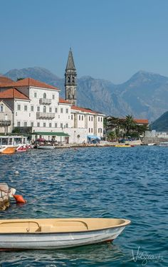 Beautiful Montenegro - The town of Perast. It doesn't get prettier than this.