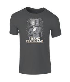 Franz Ferdinand Limited Edition T-Shirt Band Merch, Ferdinand, Rock Music, Mens Tees, Cotton, T Shirt, How To Wear, Collection, Tops
