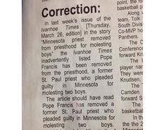 - Ivanhoe Times in Ivanhoe, Minnesota