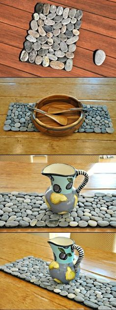 DIY Rock Doormat and Rock Projects...