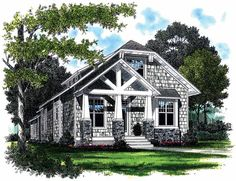 Eplans Craftsman House Plan - Will Shine In Any Neighborhood - 2107 Square Feet and 3 Bedrooms(s) from Eplans - House Plan Code HWEPL08466
