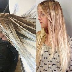 Fluid hair painting seattle