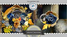minikit November Rain by GraphiCreations http://scrapbird.com/designers-c-73/d-j-c-73_515/graphic-creations-c-73_515_556/november-rain-by-graphic-creations-p-17023.html