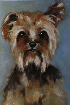 Dog portrait. SOLD