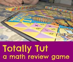 Totally Tut math review game