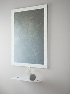 Mirrors and shelves - Essis Toilet Room, Large Windows, Recycled Glass, Interior Inspiration, Showroom, Interior Architecture, Mirrors, Recycling, Interior Decorating