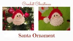 Pattern: http://hooksandyarns.blogspot.ca/2010/12/santa-and-wreath.html follow me on instagram: alyssascc again im so sorry for the voice over, sleigh ride h...