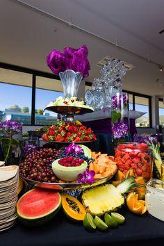 Le Croissant Catering Gorgeous fruit presentation  #lecroissantcatering #fruitpresentation #utahpride