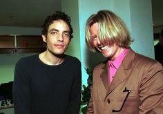 David Bowie with Jakob Dylan