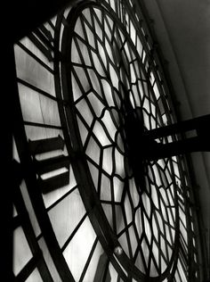 E. O. Hoppe  Big Ben Clockface, London, 1934.
