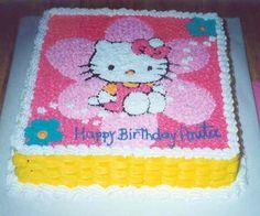 Edible Hello Kitty Cake Decorations
