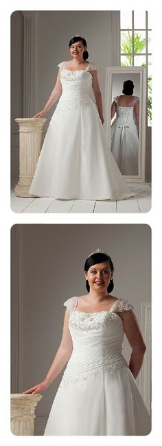 Special Day style 12821 ~ The Moderne Bridal, Cork #plussizebride #plussizebridal