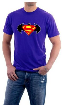 Batman T-Shirt  Superman Batman Logo Vintage be a fan https://www.facebook.com/pages/Batman-Tshirts/1381082498826849