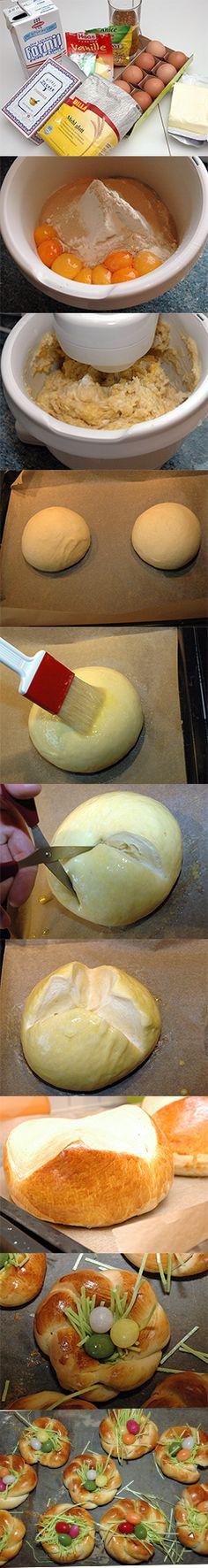 Einfache Osterpinze - Rezept mit Fotostrecke