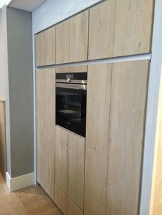 Moderne greeploze houten keuken | Delden | Keukenhof