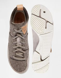 5cc30da94 Clarks Originals Trigenic Grey Wool Trainers at asos.com. Clarks ShopClarks  Shoes ...