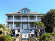 Edisto Realty - Norris House - Beach Front Home on the St Helena Sound - Edisto Island, SC