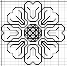LOTS of FREE black work patterns