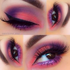 Love the colors in this! - LR   Such a pretty lookemoji by the lovely IG'er @makeupby_ev21