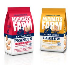 Before & After: Michael's Farm - The Dieline - The #1 Package Design Website -