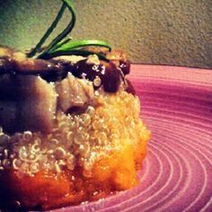 Tortine di quinoa, zucca e porcini #recipes #italianfood