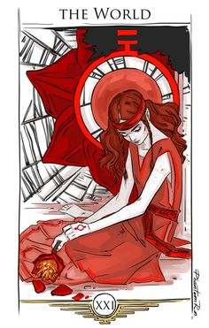 """PhantomRin: Eo as """"The World"""" """"Red Rising"""" by @pierce-brown) The last card in the Main Arcana."""