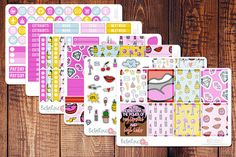 Hey, I found this really awesome Etsy listing at https://www.etsy.com/listing/478883928/90s-patches-planner-sticker-kit-planner