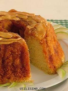 Recetas | Torta invertida de manzana | Utilisima.com