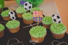 cupcakes-fútbol-candy buffet comunión www.lovewithlove.es