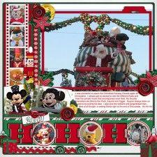 A Christmas Carol: Ho Ho Ho - MouseScrappers - Disney Scrapbooking Gallery