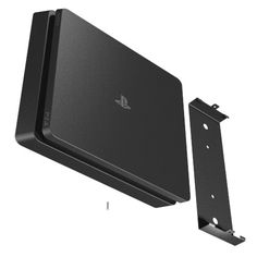 HIDEit Slim Mount uses Sony Secure Mounting Mechanism Ps4 Wall Mount, Ps2 Slim, Game Room Kids, Playstation Consoles, Game Room Decor, Wall Decor, Gaming Room Setup, Smart Home Automation, Wall Mounted Tv