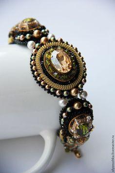 """Купити Браслет """"Perouse. RUES DE I'ITALE."""" - браслет, винтажные украшения, винтажный браслет"""
