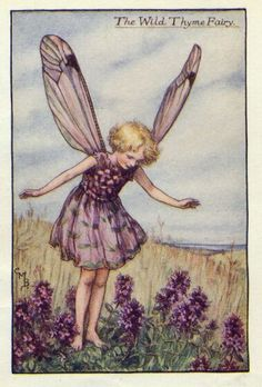 Cicely Mary Barker -- Known for her faeries