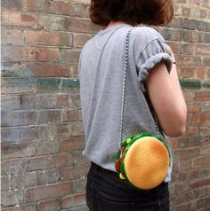 Burger Purse