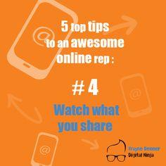 Top Tip Number 4 Online Reputation