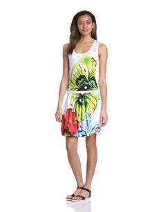 Desigual - arment - robe - été - femme - blanc (blanco) - l Desigual http://www.amazon.fr/dp/B00G55I4UC/ref=cm_sw_r_pi_dp_xtB8vb0JR06FC