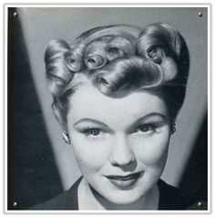 This Particular Style Is Called The Victory Roll Description From Momsoldbox WordPress