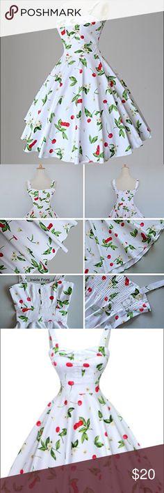 "Maggie Tang Rockabilly Dress XL Gorgeous rockabilly dress from Maggie Tang sz XL. Made with 100% cotton. Bust-23"" across. Waist-36 and length-39"" Dresses Midi"