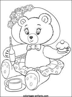 Noddy Paining Coloring Pages For Kids Printable Free