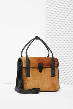 IIIBeCa North Moore Pony Hair Satchel | Shop What's New at Nasty Gal
