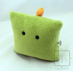 Rawrie Air the Dino Monster Pillow by lemonlemonpie on Etsy, $24.99