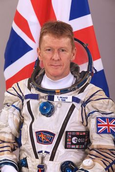 UK's Tim Peake~ISS crew 2015