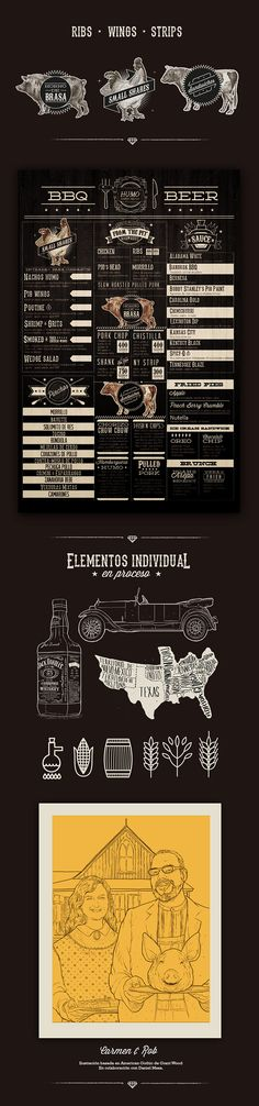 Southern BBQ / Humo on Behance
